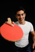 Man holding table tennis racket - Alex Microstock02