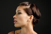 Woman looking away, profile - Alex Microstock02