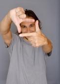 Man making square shape with his fingers - Yukmin