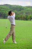 Golfer playing golf - Alex Mares-Manton