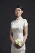 Woman in cheongsam, portrait - Alex Mares-Manton