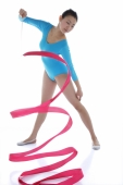Female rhythmic gymnast - blueduck