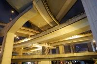 Low angle view of freeways, Shanghai, China - Yukmin