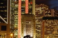 Buildings in Hong Kong at night - Yukmin