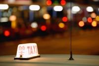 Close up of Hong Kong Taxi sign - Yukmin