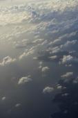 Clouds over Hong Kong, view from plane window - Yukmin