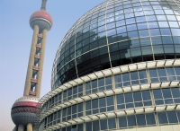 International Convention Centre & TV Tower, Shanghai, China - OTHK