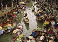Damnoensaduak floating market, Thailand - OTHK