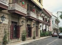 Traditional buildings in Intramuros, Manila, Philippines - OTHK