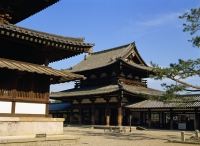 Horyu-Ji Temple (The World Cultural Heritage), Nara, Japan - OTHK