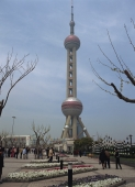 Oriental Pearl TV Tower, Shanghai, China - OTHK