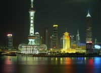 Pudong from the Bund, Shanghai, China - OTHK