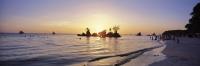 Sunset at Boracay Beach, Philippines - OTHK