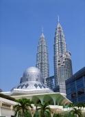 Petronas Towers & national mosque, Kuala Lumpur, Malaysia - OTHK