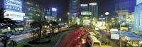 Busy xujiahui at night, Shanghai, China - OTHK