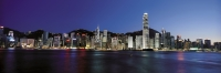 Hong Kong skyline at night - OTHK