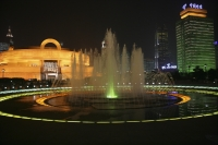 Fountain at People's Square, Shanghai - OTHK