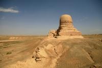 Mo'er ancient Buddhist pagoda, Kashgar, Xinjiang - OTHK