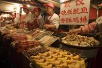 Dong Hua Men night market, Wangfujing,  Beijing, China - OTHK