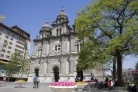 Catholic church at Wangfujing,  Beijing, China - OTHK