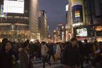Busy Shibuya at dusk, Tokyo, Japan - OTHK