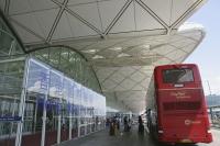 Shuttle bus at Hong Kong International Airport, Hong Kong - OTHK