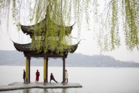 Jixian-ting pavilion, West Lake, Hangzhou, China - OTHK