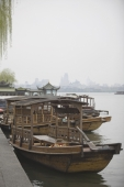 Excursion boats, West Lake, Hangzhou, China - OTHK