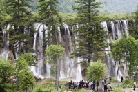 Nuorilang Fall,  Jiuzhaigou scenic Area,  Wuhang, China - OTHK