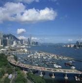 Hong Kong cityscape from Tin Hau - OTHK