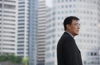 Businessman in the city - Yukmin
