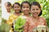 Balinese children laughing - Cedric Lim