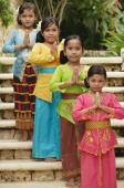 Balinese girls looking at camera - Cedric Lim