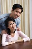 Young couple smiling at camera - Alex Mares-Manton