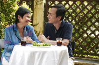 Mature couple at the restaurant - Cedric Lim