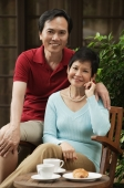 Mature couple smiling at camera - Cedric Lim