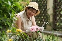 Woman doing gardening - Cedric Lim