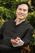 Man with meditation balls - Cedric Lim