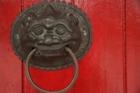 Decorative chinese door knocker - Ellery Chua