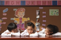 Young students in class - Alex Mares-Manton