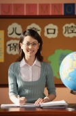 School teacher in class - Alex Mares-Manton