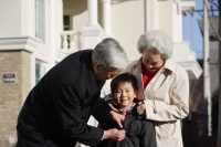 Elderly couple with grandson - Alex Mares-Manton