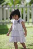 Young girl in backyard - Yukmin
