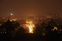 View of Beijing at night, China - Alex Mares-Manton