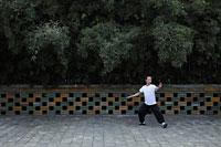 Man doing tai chi in a park - Alex Mares-Manton