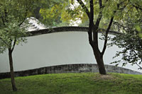 Old wall in a park, Beijing, China - Alex Mares-Manton