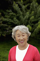 Head shot of older woman with grey hair - Alex Mares-Manton