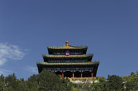 Pavilion at Jingshan Park, Beijing, China - Alex Mares-Manton