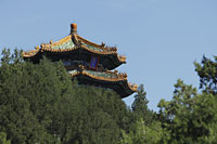 Pagoda at Jingshan Park, Beijing, China - Alex Mares-Manton