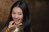 Head shot of young woman smiling - Alex Mares-Manton